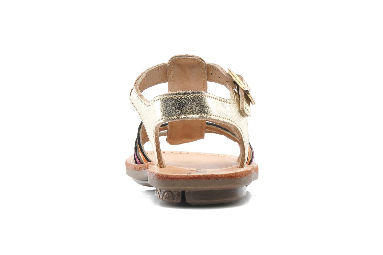 Sandales et nu-pieds Minibel Chana Multicolore vue droite