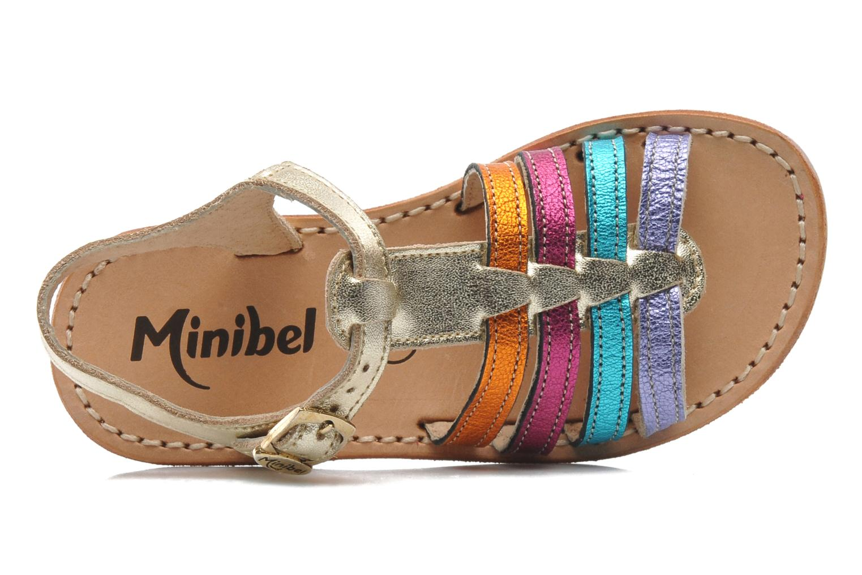 Sandalen Minibel Chana Multicolor links