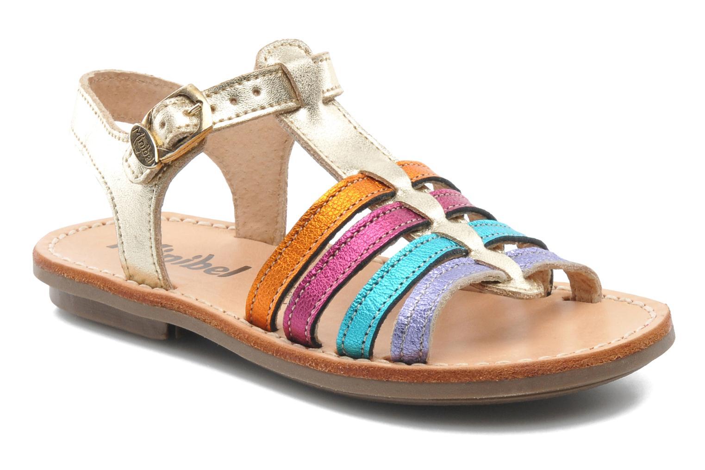 Sandales et nu-pieds Minibel Chana Multicolore vue détail/paire
