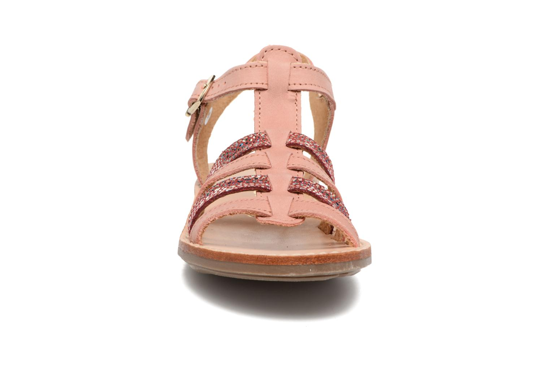 Sandales et nu-pieds Minibel Chana Rose vue portées chaussures