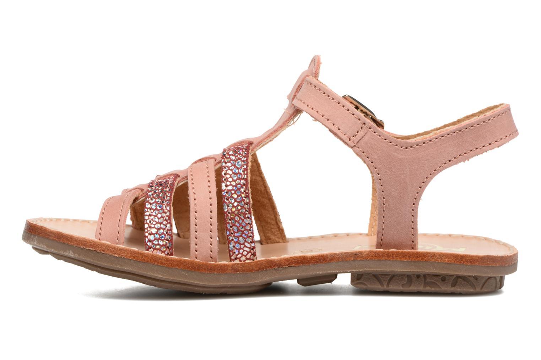 Sandals Minibel Chana Pink front view