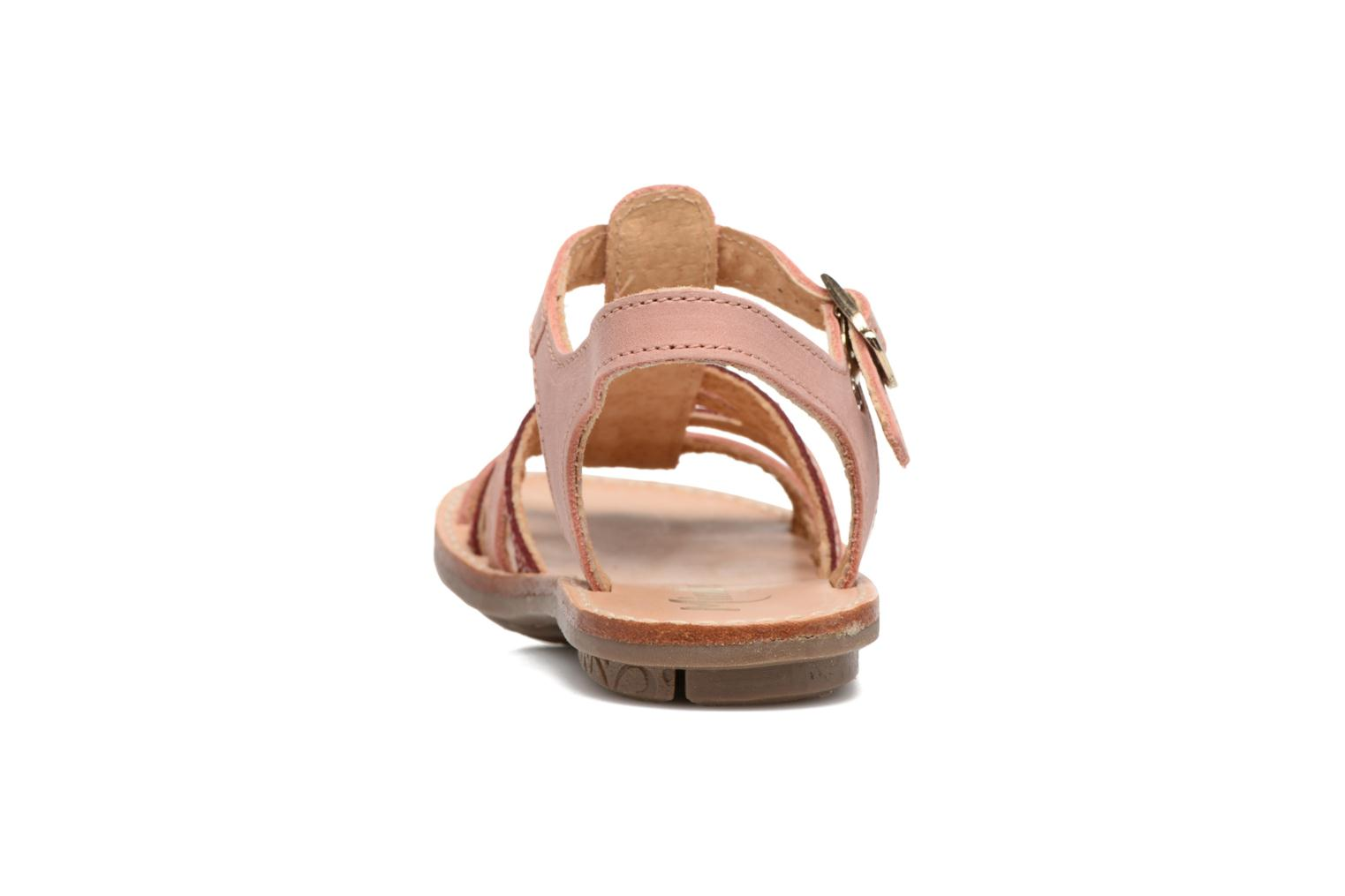 Sandals Minibel Chana Pink view from the right