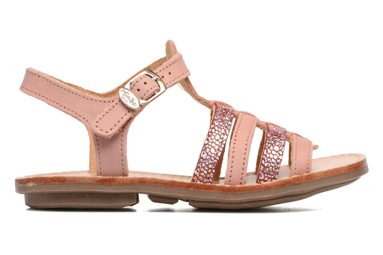 Sandals Minibel Chana Pink back view