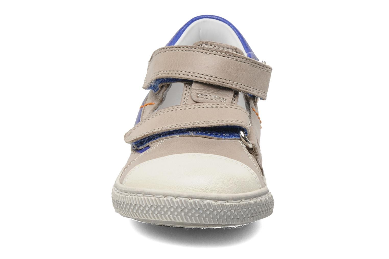 Zapatos con velcro Rondinella Pierrot Gris vista del modelo
