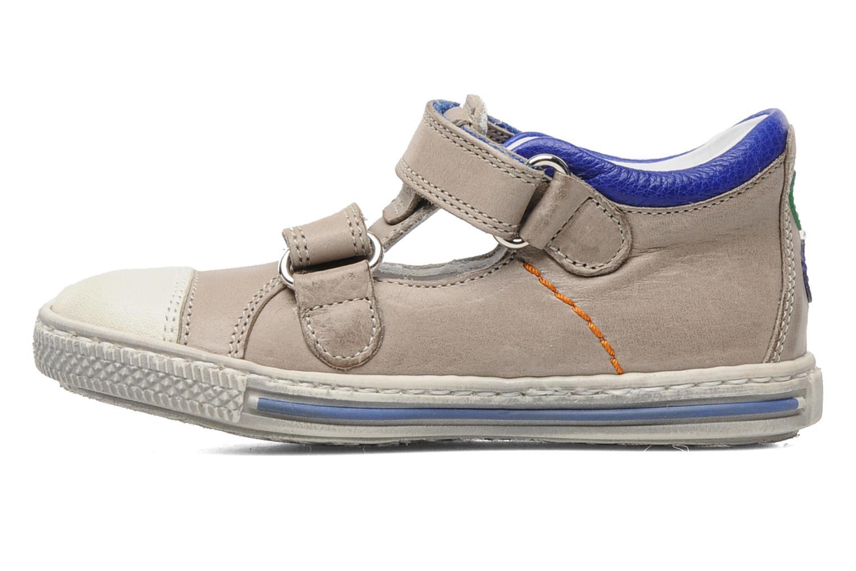 Chaussures à scratch Rondinella Pierrot Gris vue face