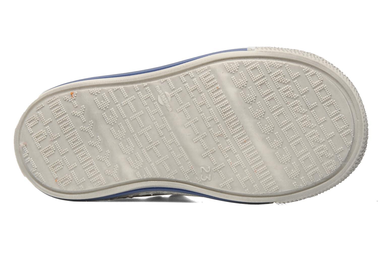 Chaussures à scratch Rondinella Pierrot Gris vue haut