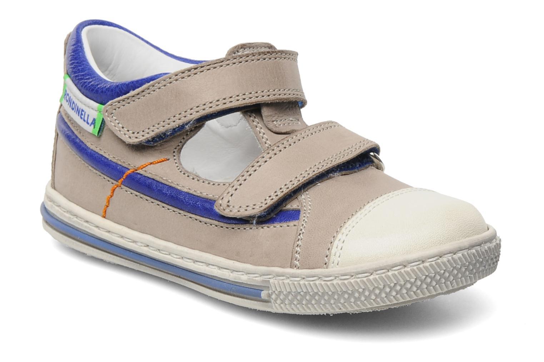 Chaussures à scratch Rondinella Pierrot Gris vue détail/paire