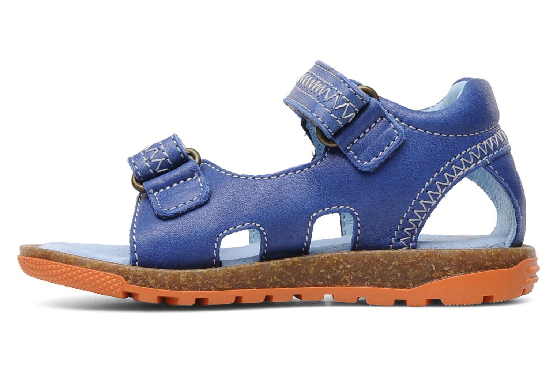 Sandalen Romagnoli Néo Blauw voorkant