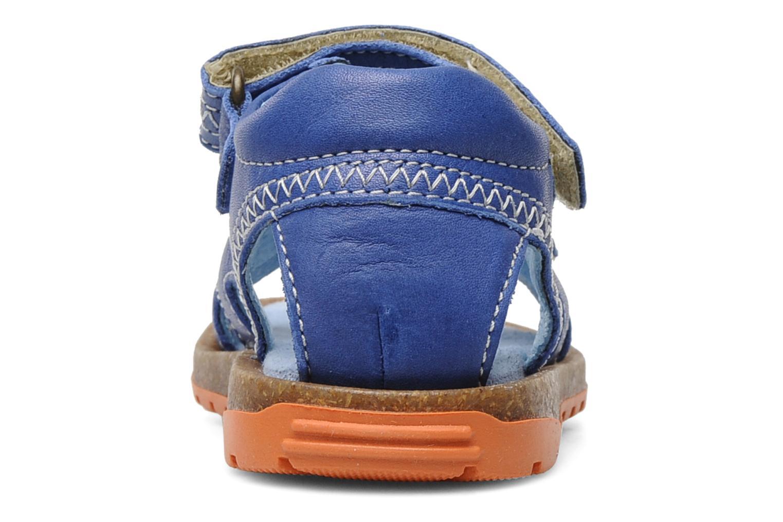 Sandalen Romagnoli Néo Blauw rechts