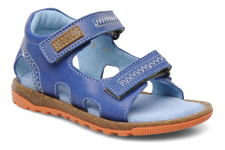 Sandalen Romagnoli Néo Blauw detail