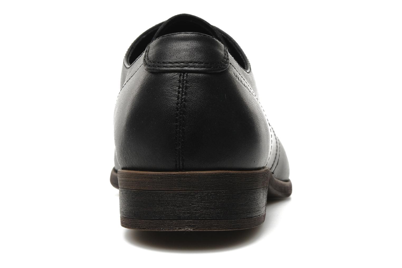 Chaussures à lacets Vagabond HUSTLE 3863-201 Noir vue droite