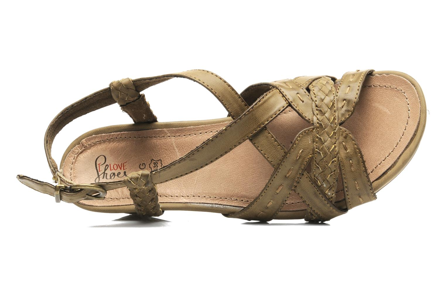 Sandalen I Love Shoes Suzanne Bruin links