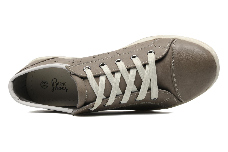 Sneakers I Love Shoes Sunamy Grijs links