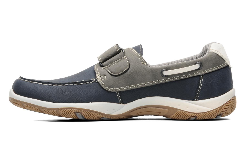 Mocassins I Love Shoes Sunasti Blauw voorkant
