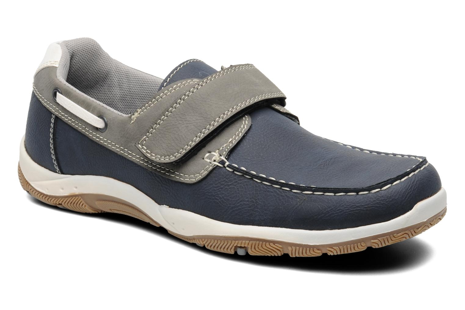 Mocassins I Love Shoes Sunasti Bleu vue détail/paire