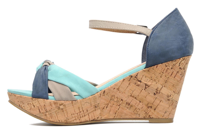 Sandales et nu-pieds Latinas Vilo Bleu vue face