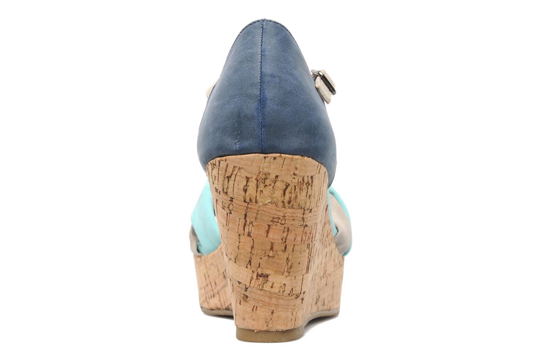 Sandales et nu-pieds Latinas Vilo Bleu vue droite