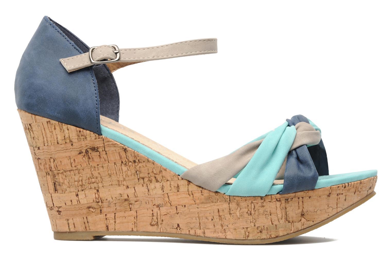 Sandales et nu-pieds Latinas Vilo Bleu vue derrière