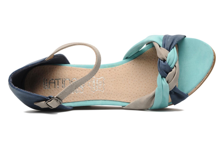 Sandales et nu-pieds Latinas Vilo Bleu vue gauche