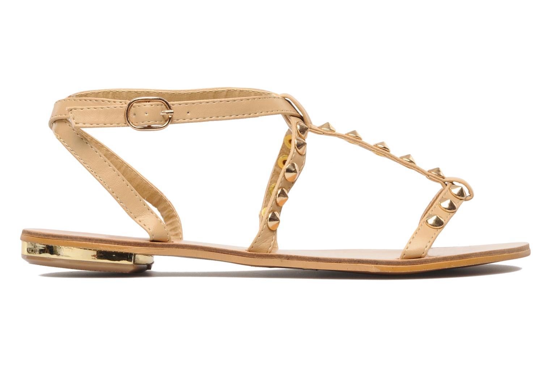 Sandales et nu-pieds Latinas Sheila Beige vue derrière
