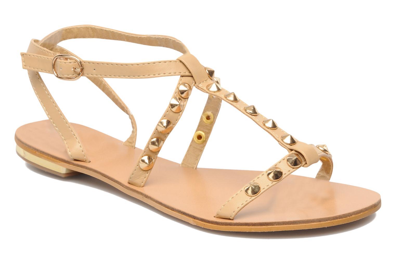 Sandales et nu-pieds Latinas Sheila Beige vue détail/paire