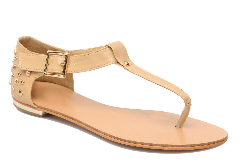 Sandals Latinas Karen Beige detailed view/ Pair view