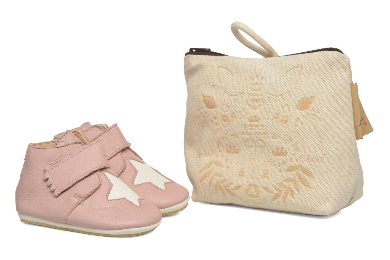 Pantoffels Easy Peasy Kiny Patin Etoile Roze detail