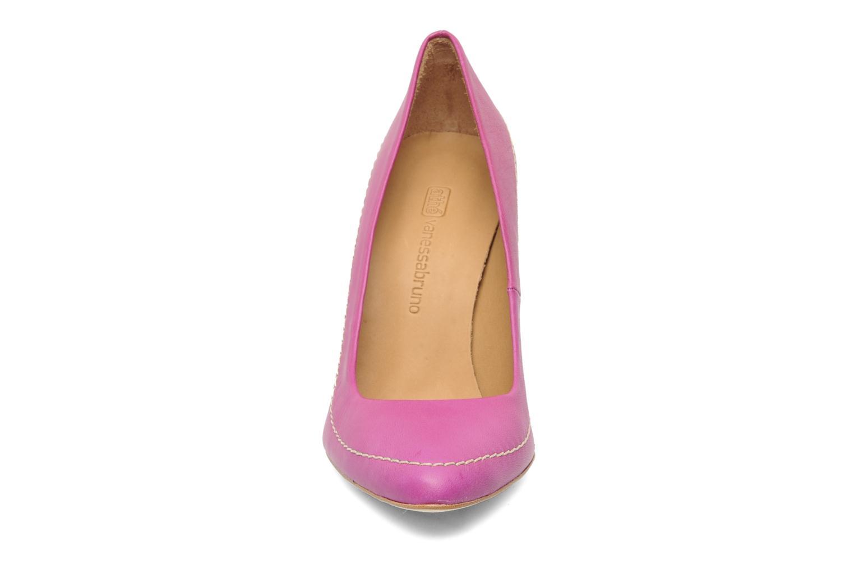 Escarpins Vanessa Bruno Athé Vidi Rose vue portées chaussures