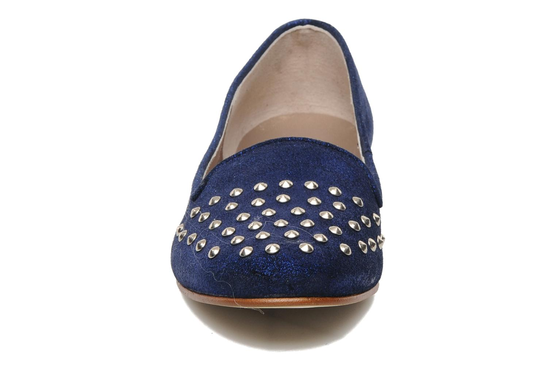 Mocassins Addict-Initial Alamina Bleu vue portées chaussures