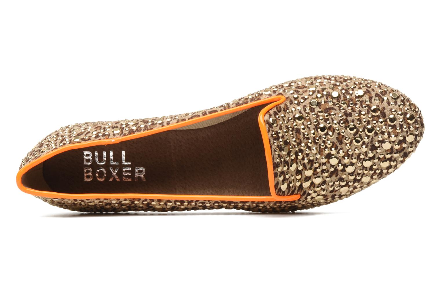 Mocassins Bullboxer Tilva Bruin links