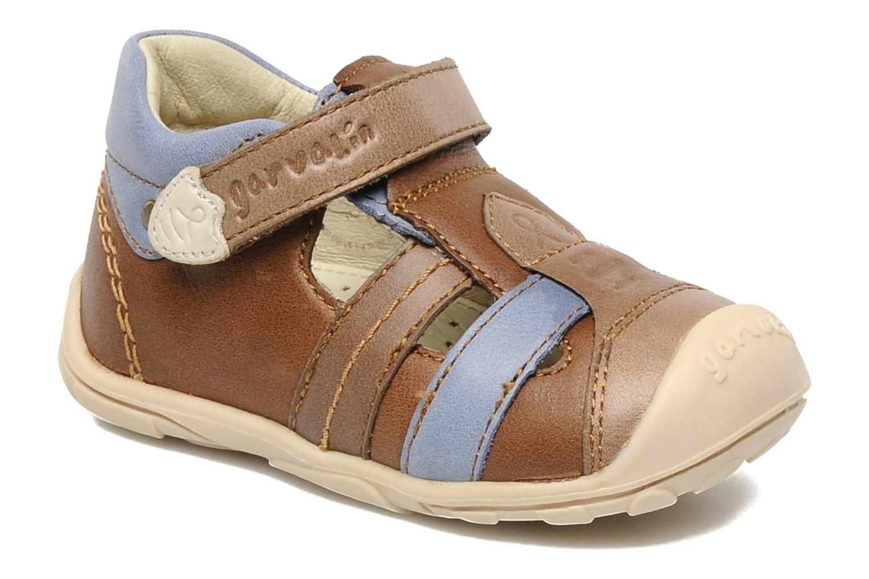Boots en enkellaarsjes Garvalin Zach Bruin detail