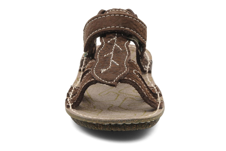 Sandals El Naturalista Kiri 254 Brown model view