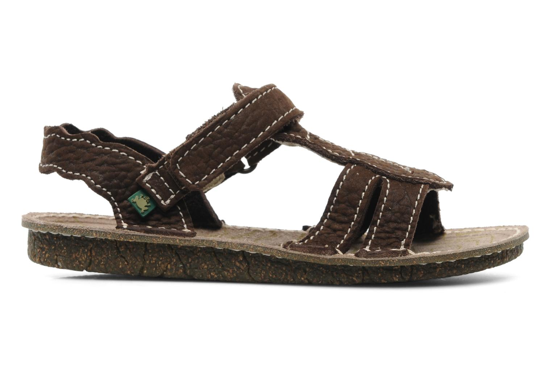 Sandales et nu-pieds El Naturalista Kiri 254 Marron vue derrière