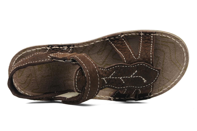 Sandales et nu-pieds El Naturalista Kiri 254 Marron vue gauche