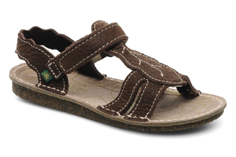 Sandales et nu-pieds El Naturalista Kiri 254 Marron vue détail/paire