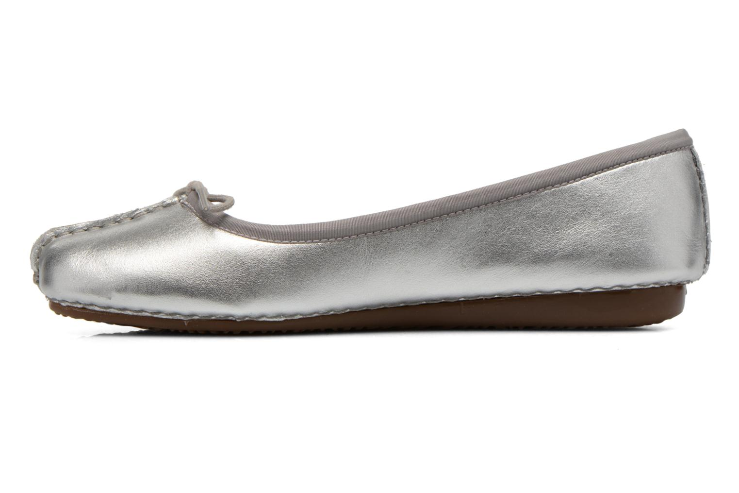 Freckle Ice Silver leather