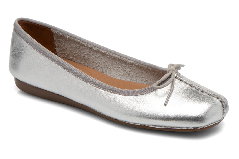 Descuento por tiempo limitado Clarks Unstructured Freckle Ice (Plateado) - Bailarinas en Más cómodo