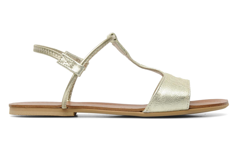 Sandali e scarpe aperte Manuela de Juan Mikonos Oro e bronzo immagine posteriore