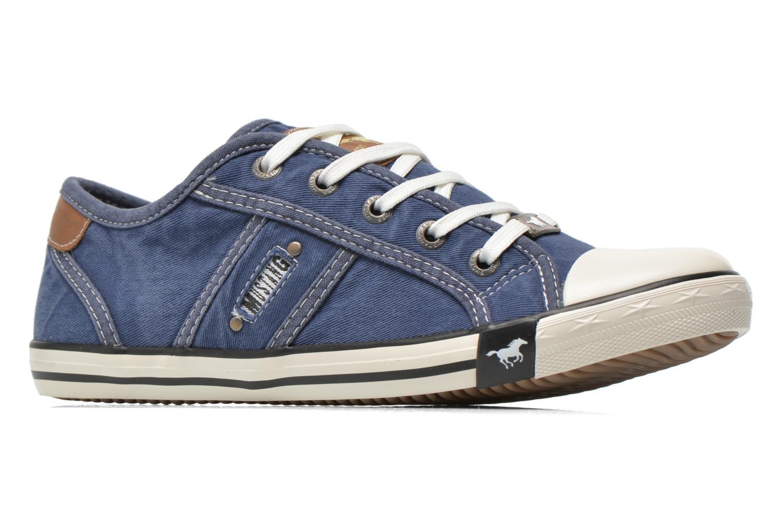 Baskets Mustang shoes Flaki Bleu vue derrière