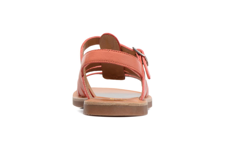 Sandales et nu-pieds Pom d Api Plagette Strap Rose vue droite
