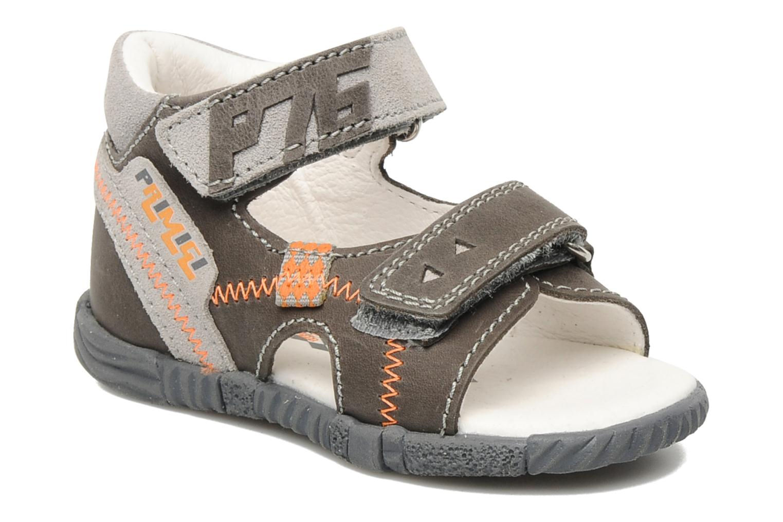 Sandales et nu-pieds Primigi Cooper Gris vue détail/paire