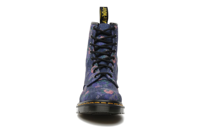 Bottines et boots Dr. Martens Castel Vintage Bleu vue portées chaussures