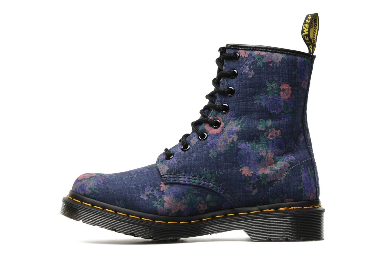Bottines et boots Dr. Martens Castel Vintage Bleu vue face