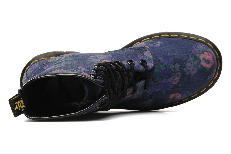 Bottines et boots Dr. Martens Castel Vintage Bleu vue gauche
