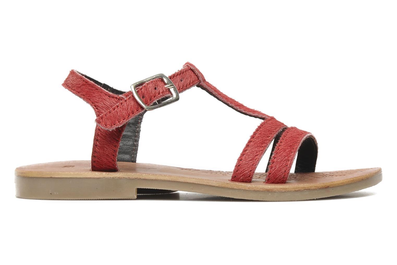 Sandalen Mod8 Zibette Rood achterkant