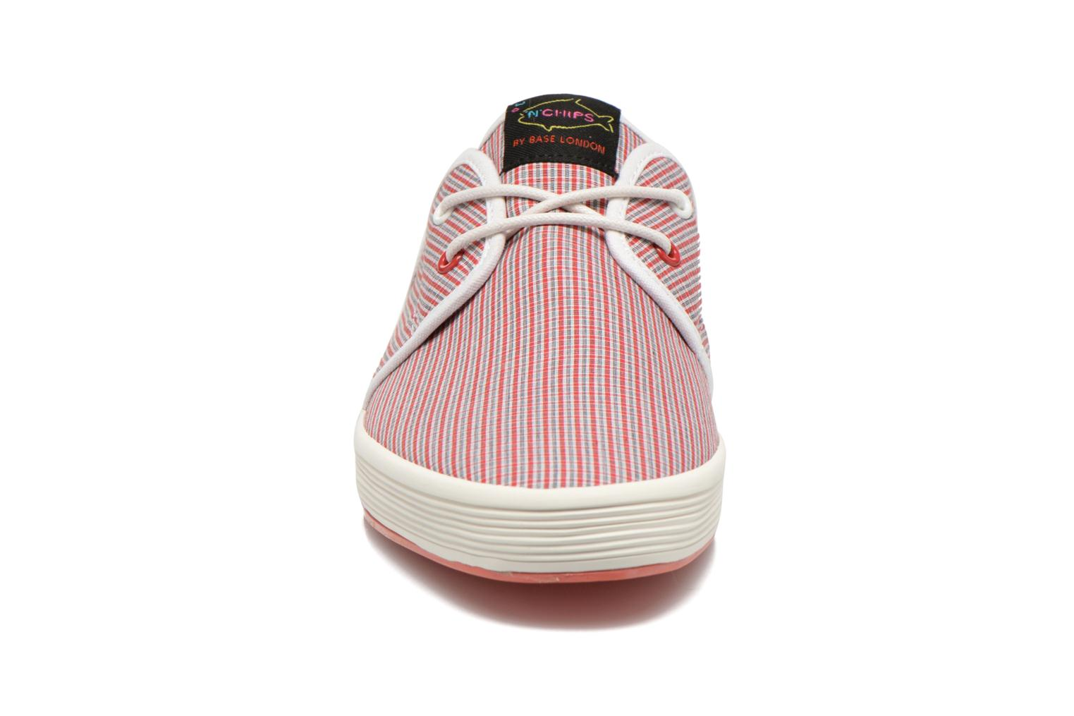 Baskets Fish 'N' Chips SPAM 2 Rouge vue portées chaussures