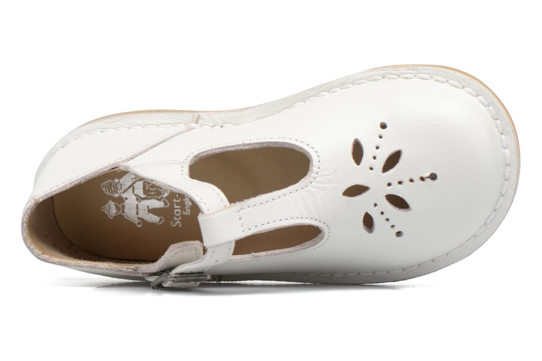 Ballerines start rite classics Lottie III Blanc vue gauche