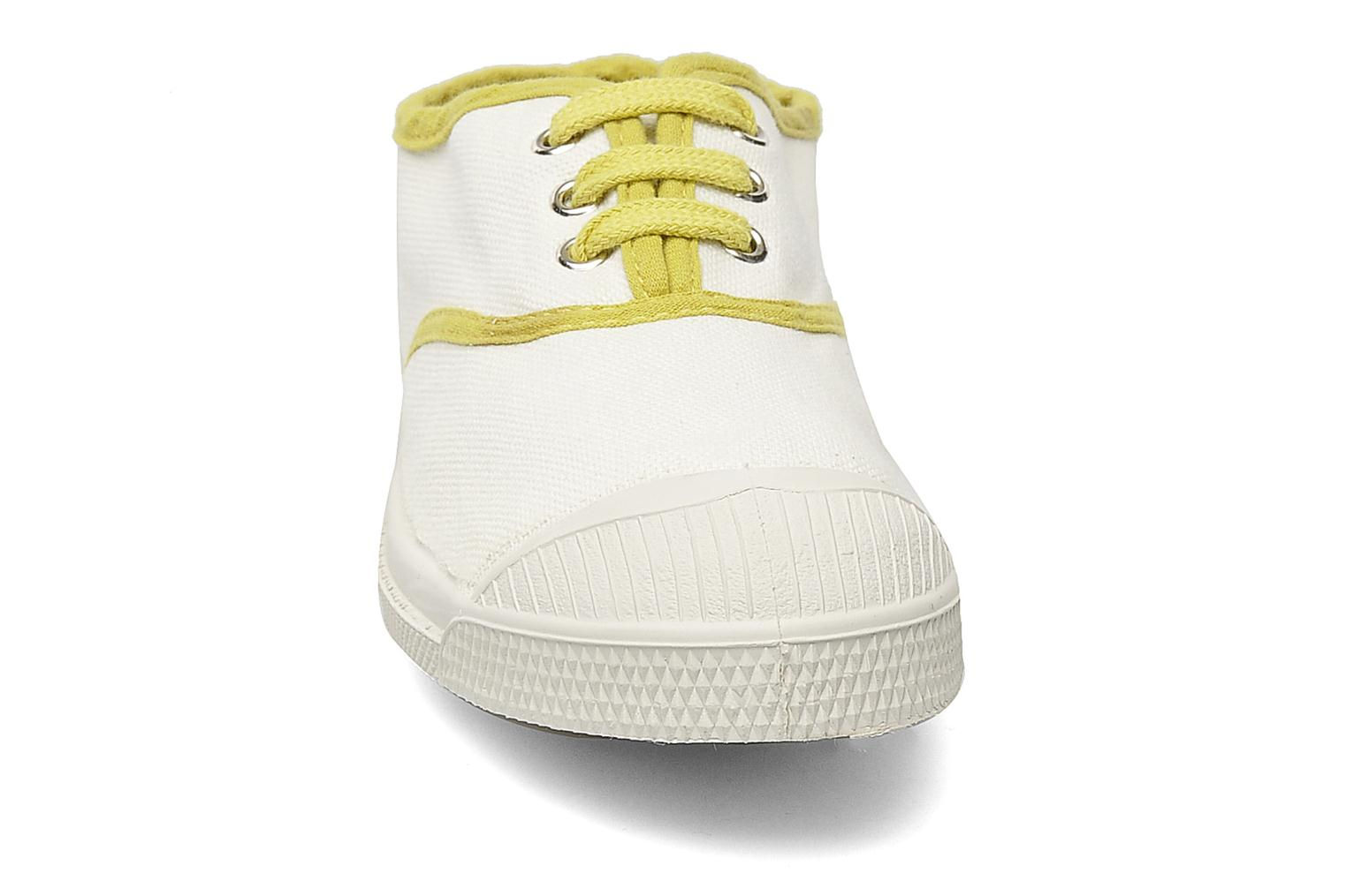 Trainers Bensimon Tennis Colorpiping E White model view