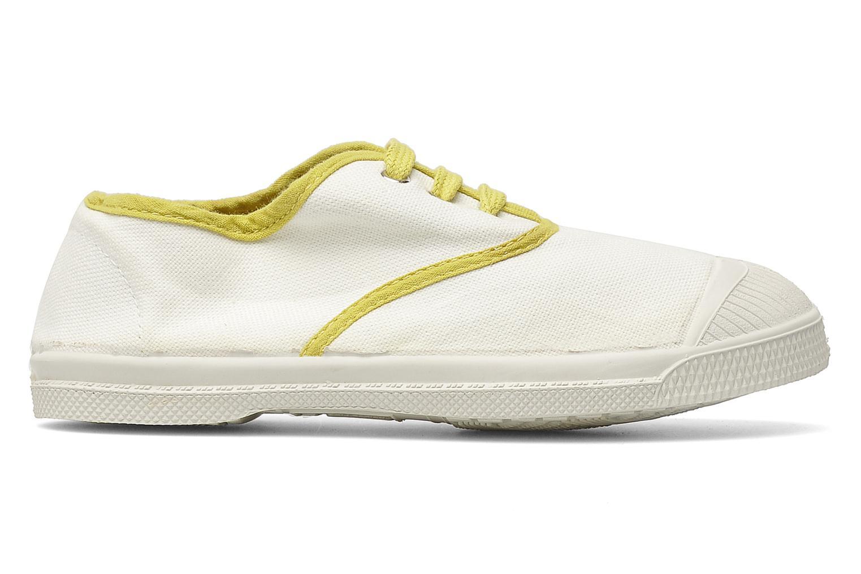Deportivas Bensimon Tennis Colorpiping E Blanco vistra trasera