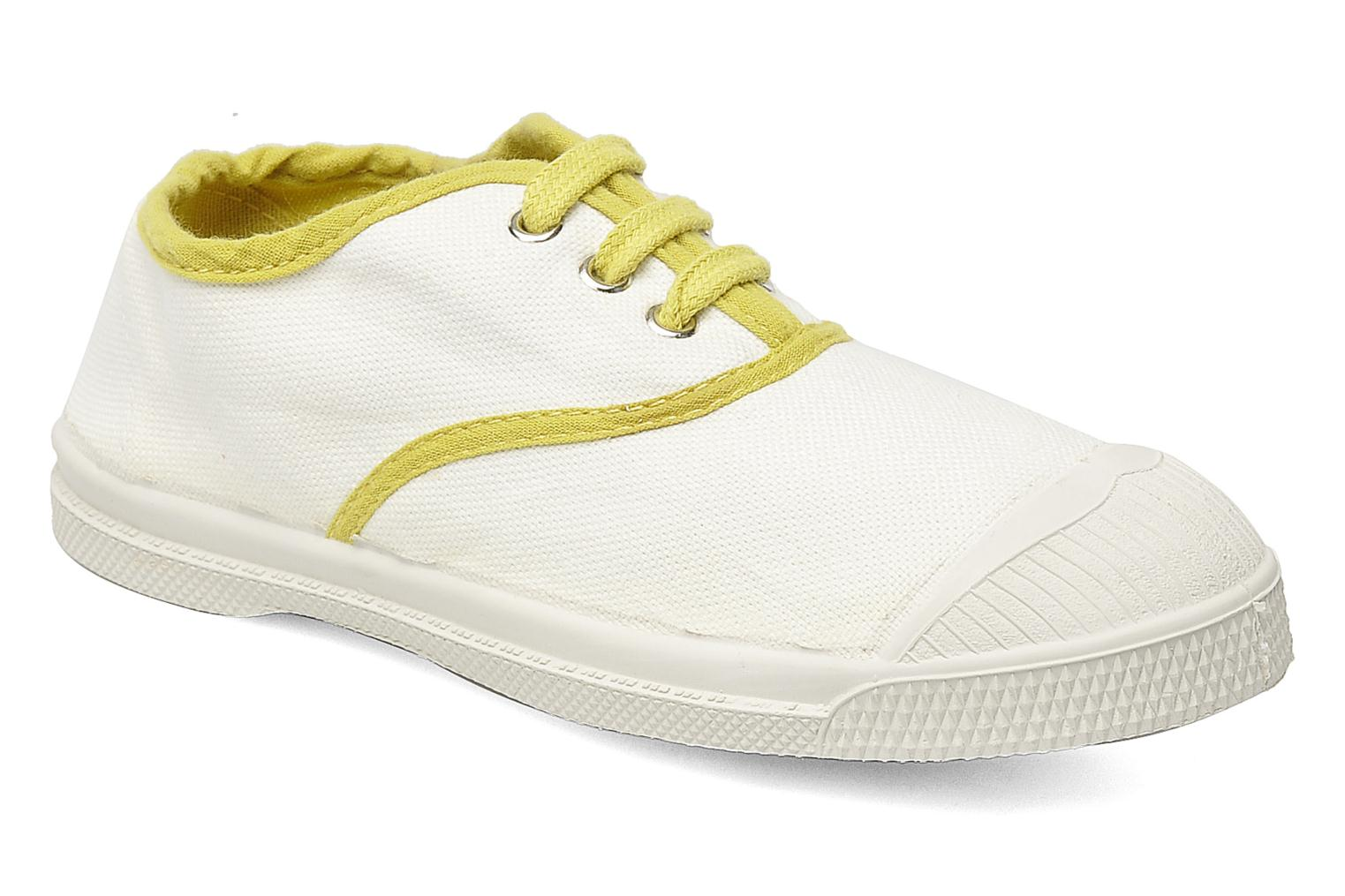 Trainers Bensimon Tennis Colorpiping E White detailed view/ Pair view